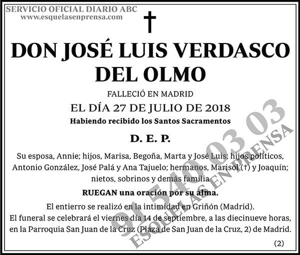 José Luis Verdasco del Olmo